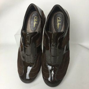 Cole Haan Patent Leather Suede Comfort Shoes 8.5 B